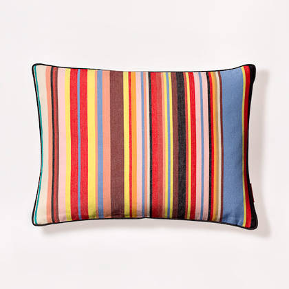 Tom Multi French Stripe Cushion 30x40cm