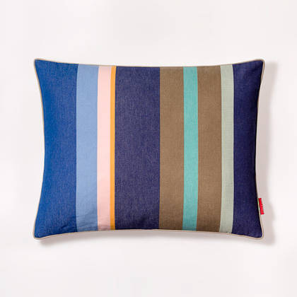 French Stripe Collioure Roy Cushion 40x50cm