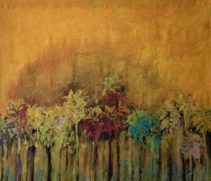 Maison Levy Take Home Art - Palmiers Pop (size 150x130cm)