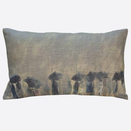 Maison Levy Horizon de Pluie Cushion 50 x 30cm (available to order)