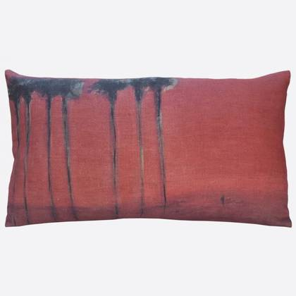 Maison Levy Palmiers Noirs Cushion 50 x 30cm (available to order)