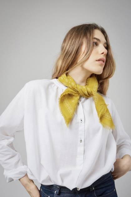 Moismont Scarf - design n° 442 - Mustard