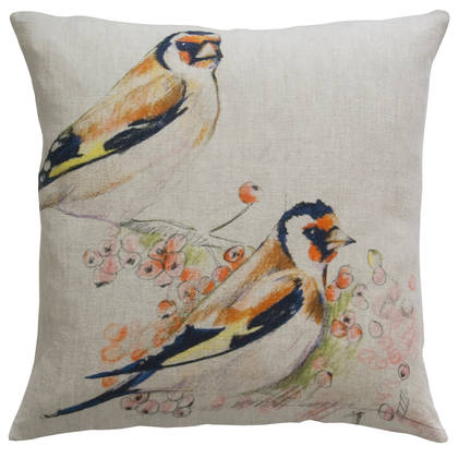 Maison Lévy Romeo & Juliet Natural Cushion 55cm (available to order)