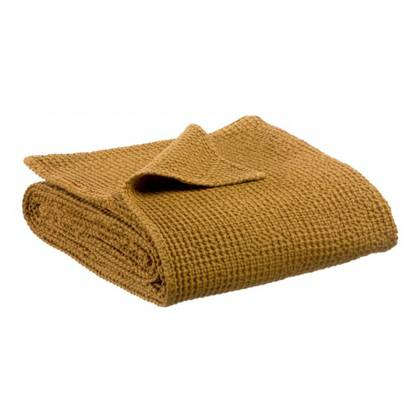Portuguese Cotton Throw in Bronze - medium (sold out)