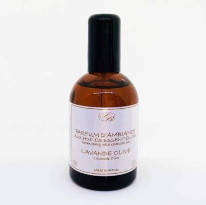 Savonnerie de Bormes Room Spray with essential oils - Lavander-Olive