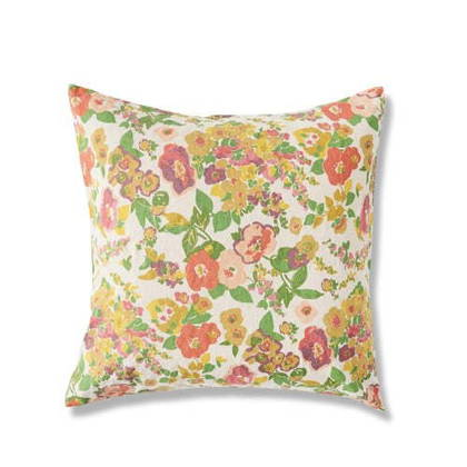 Marianne Floral Euro Pillowcase - set of 2 (due end of Feb)
