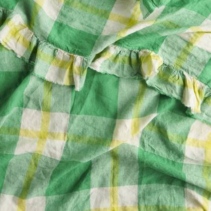 Zest Ruffle Flat Sheet - One size (due mid May)