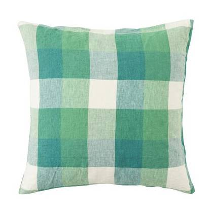 Apple Check Euro Pillowcase - set of 2 (available to order)