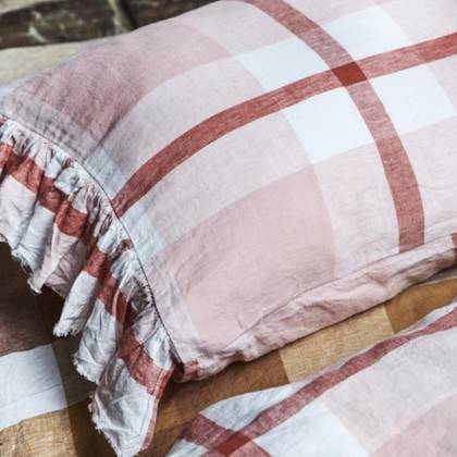 Floss Ruffle standard Pillowcase - set of 2 (sold out)