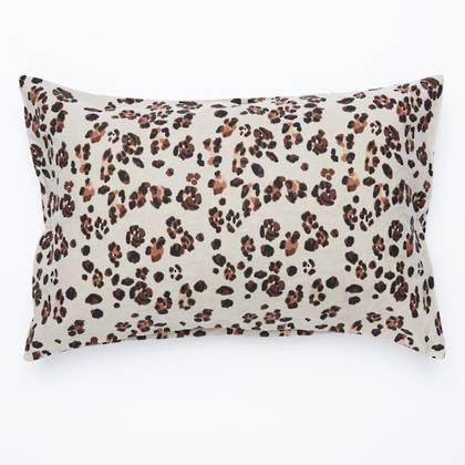 Leopard Standard Pillowcase - set of 2 (1 left)