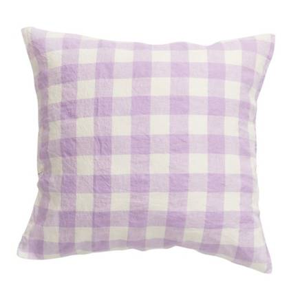 Lilac european Pillowcase - set of 2 (due mid May)