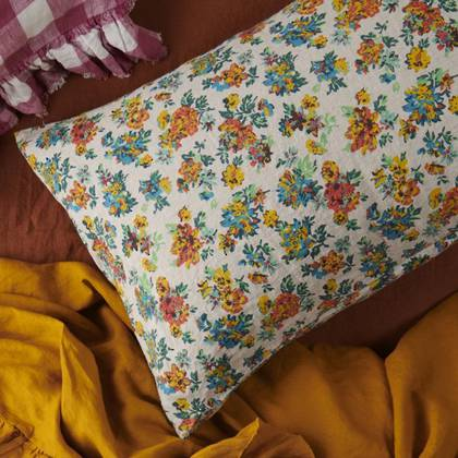 Florence Floral standard Pillowcase - set of 2 (due early May)