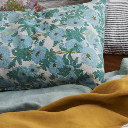 Joan's Floral standard Pillowcase - set of 2 (avaliable to order)
