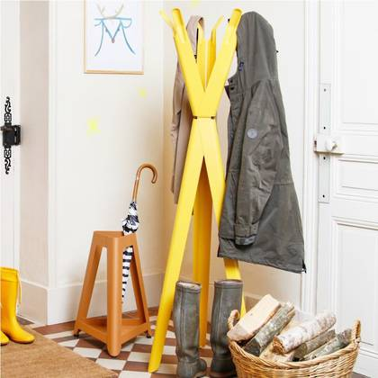 Tolix Coatrack - Citron Yellow (available to order)