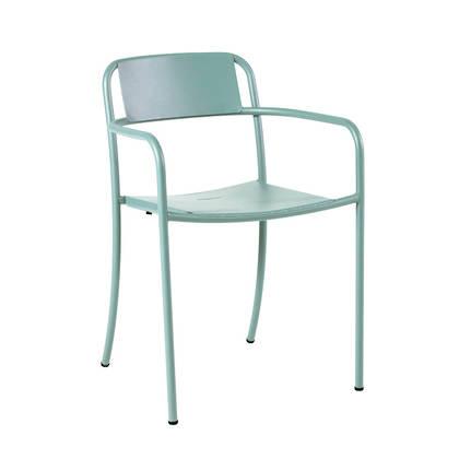 Tolix Patio range - Chair in Vert Lichen (due late Nov)
