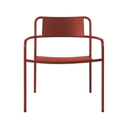 Tolix Patio range - Lounge Chair in Rouille Fauve (sold)