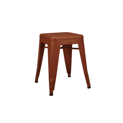 Tolix 45cm Stool - Rouille Fauve (sold)