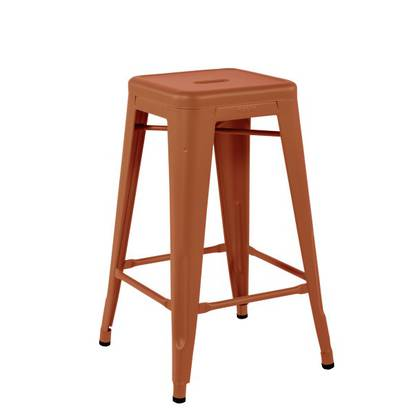 Tolix Barstool H65cm - Rouille Fauve (3 available)