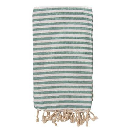 Turkish Towel  St Tropez Sage