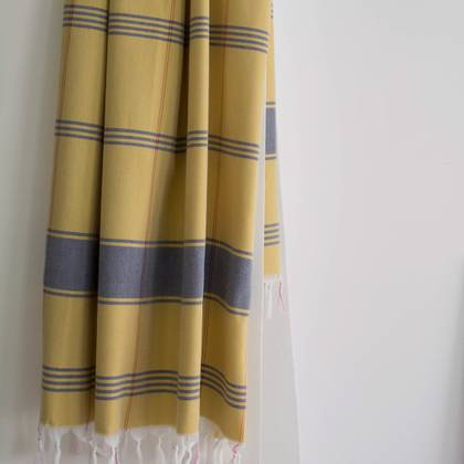 Turkish Organic Cotton Towel - Ochre (sold out)