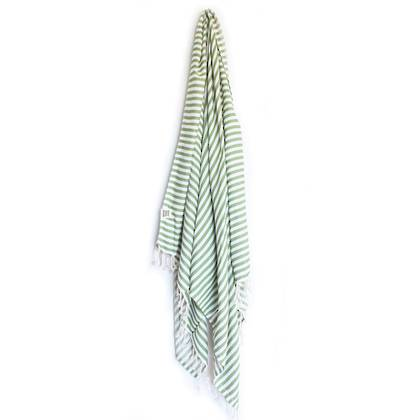 Turkish Towel  St Tropez Olive