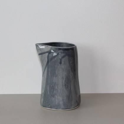 Vicki Fanning Large Jug - Soft Grey