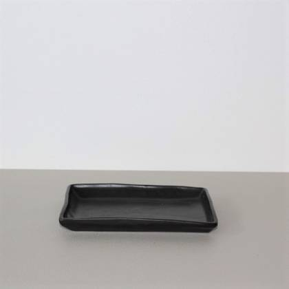 Vicki Fanning Small Ceramic Tray - Black