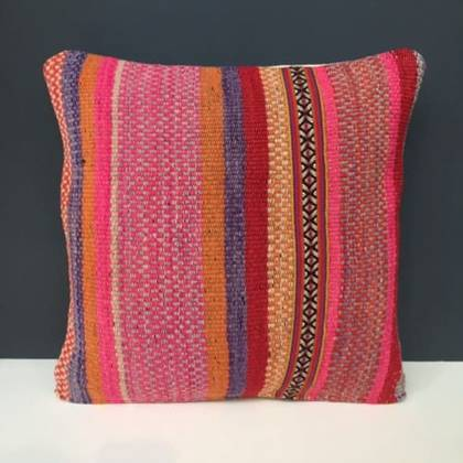 Frazada wool Cushion 43cm (no. 04) (sold out)