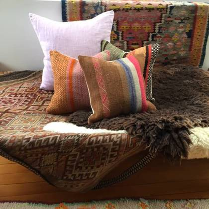 Frazada wool Cushion 43cm (no. 03)