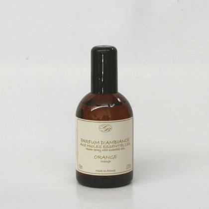 Savonnerie de Bormes Room Spray with essential oils - Orange