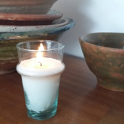 Hand poured Soy Wax Candles - Egyptian Amber