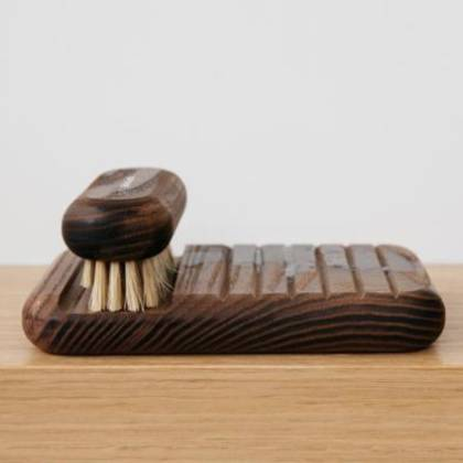 Andree Jardin Soap Holder in Ash Wood