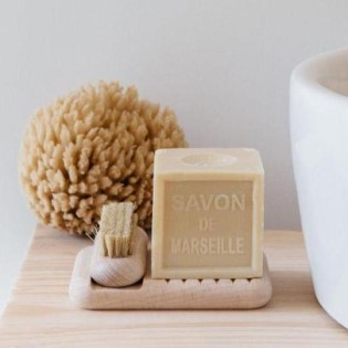 Andree Jardin Soap holder in beechwood 4
