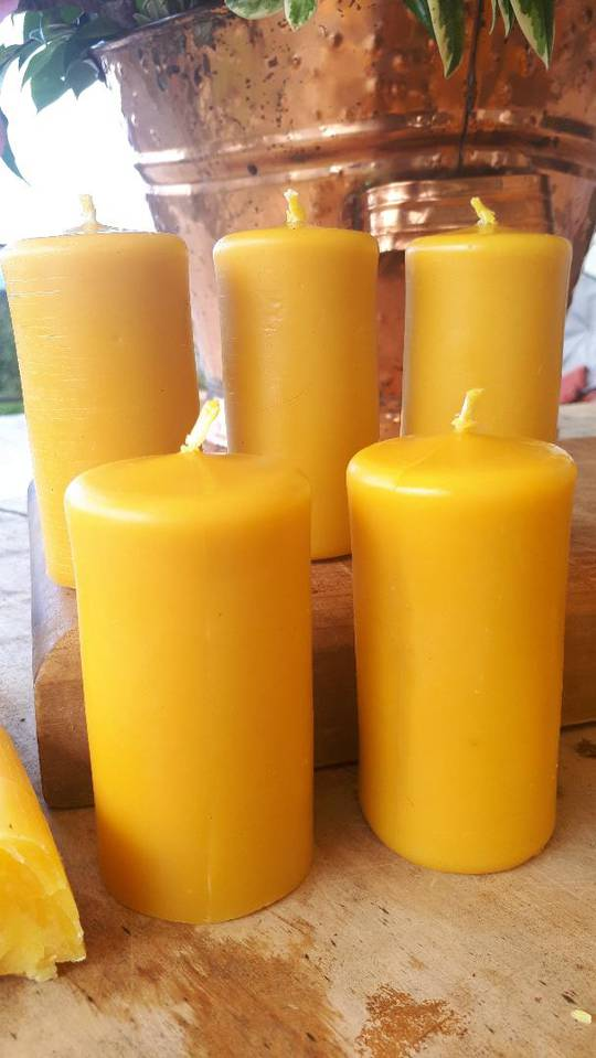 Small Pillar Candles