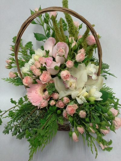 In the Pinks Basket