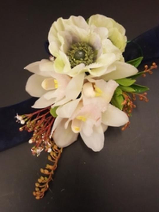 Orchid Wristlet