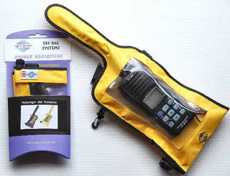 Aqua Quest Dry Bag - for VHF Handheld Radios