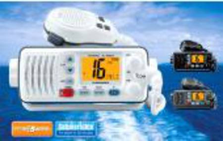 ICOM IC-M304 -25W In-boat, DSC, Dual&Tri-Watch  (Black/Grey/White)
