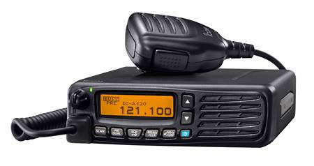 ICOM IC-A120E Air Band Mobile Base Station Transceiver