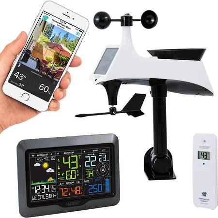 La Crosse V40A-PRO WIFI Complete Colour Weather Station