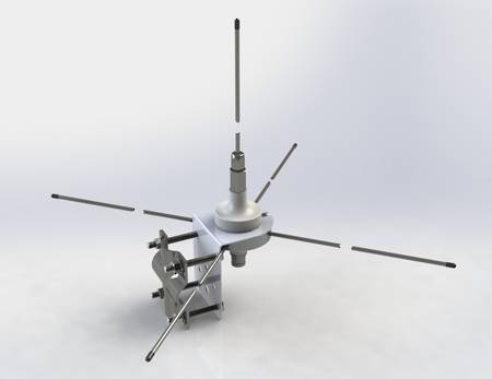 Antenna P1580 for Base Station Transceiver Radio