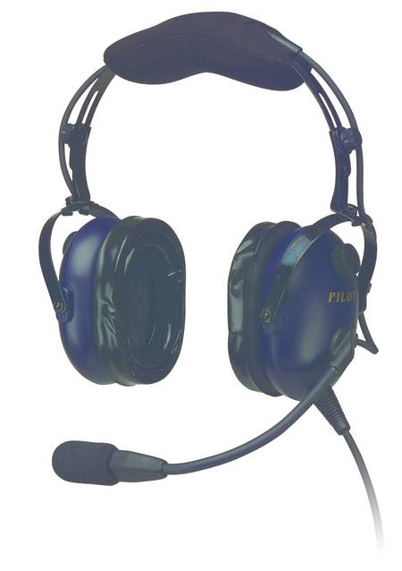PILOT USA PA1181T GA Headset with in-built PTT & Cellphone/Music Interface