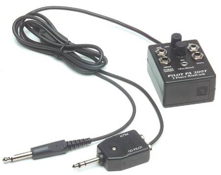 PILOT PA200 Minicom 2-Place Portable Intercom