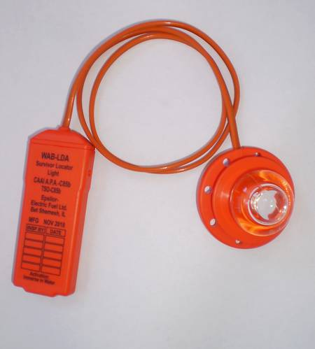 Electric Fuel WAB-LDA Aviation Survivor Locator Light. TSO-C85b Approved