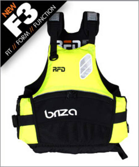 RFD BRIZA Type 405 Buoyancy Vest, 53N, Size: Adult X Large
