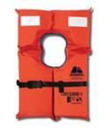 Coastguard II Lifejacket w/- Whistle - Adult - for persons 40kg+