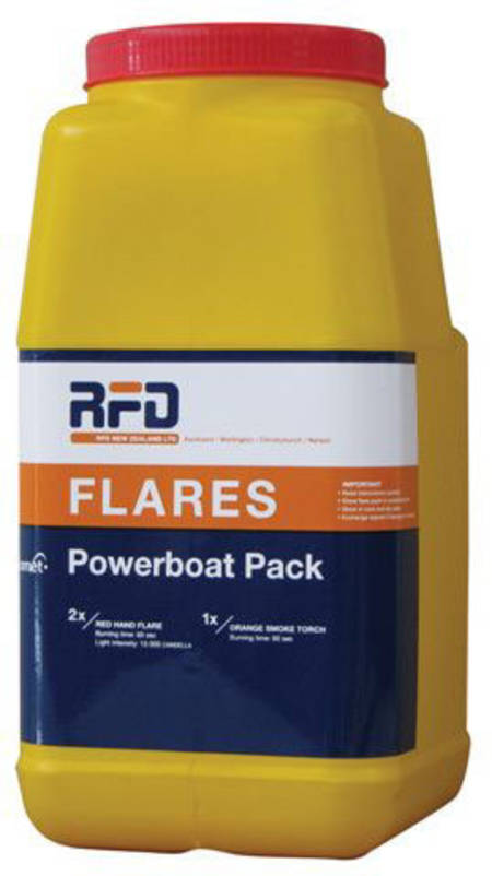 Power Boat Flare Pack