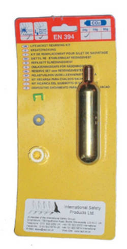 CO2 Cylinder Re-Arming Kit - Auto - 24g for 100N Child Life Jacket