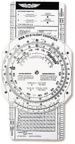 ASA E6B-P Budget Fibreboard Flight Computer