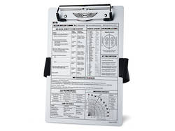 VFR Kneeboard / Clipboard - ASA-KB-1A (New version)